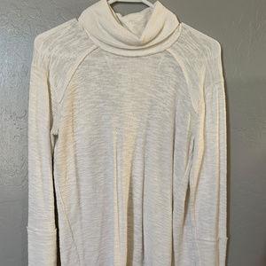 Free People Split Back Sweater
